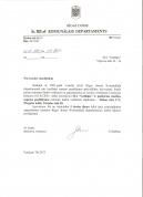 Komunālais departaments 2001